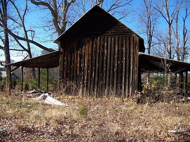 Log Tobacco Barn for Sale in Virginia