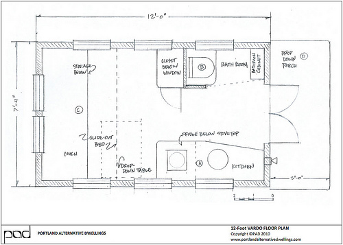 Tiny Houses without Lofts on tumbleweed house plans, new york loft floor plans, small loft house plans, micro house floor plans, house designs with floor plans, two bedroom loft floor plans, tiny home house plans,