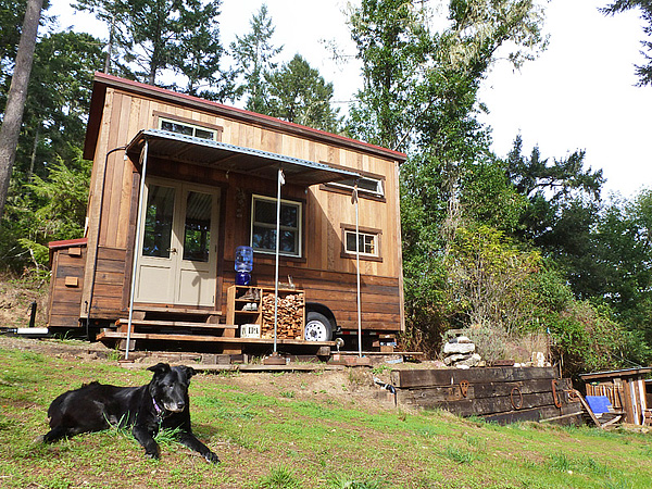 completed cabin