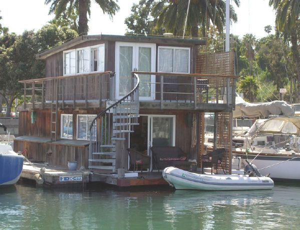 Santa Barbara S Only True Houseboat Is For Sale Tiny House
