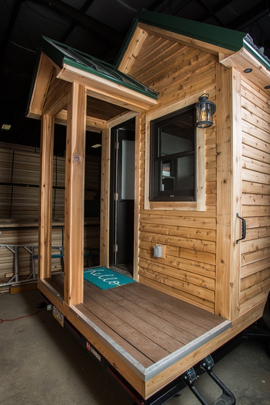 The Roving model is the first tiny home launched in the Tiny Living product line by 84 Lumber. For more information visit 84tinyliving.com. (PRNewsFoto/84 Lumber Company)