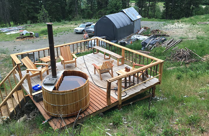 The Perfect Tiny House Accessory A Diy Wood Fired Hot Tub