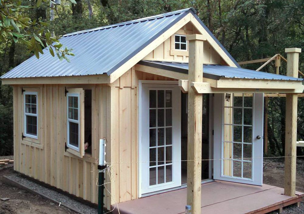 Backyard Unlimited Offers Tiny Adaptable Amish Built