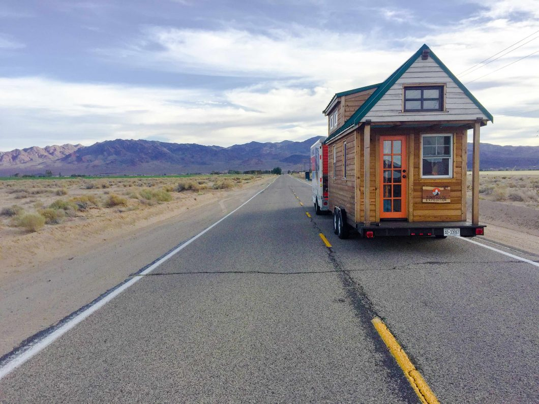 Tiny House Expedition, a traveling THOW