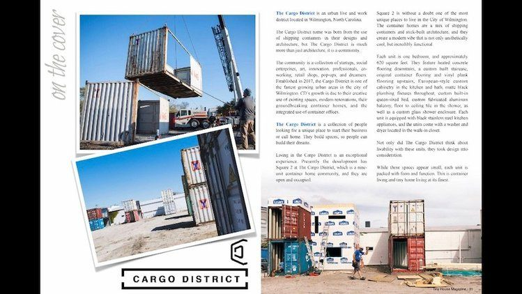 Cargo Container District