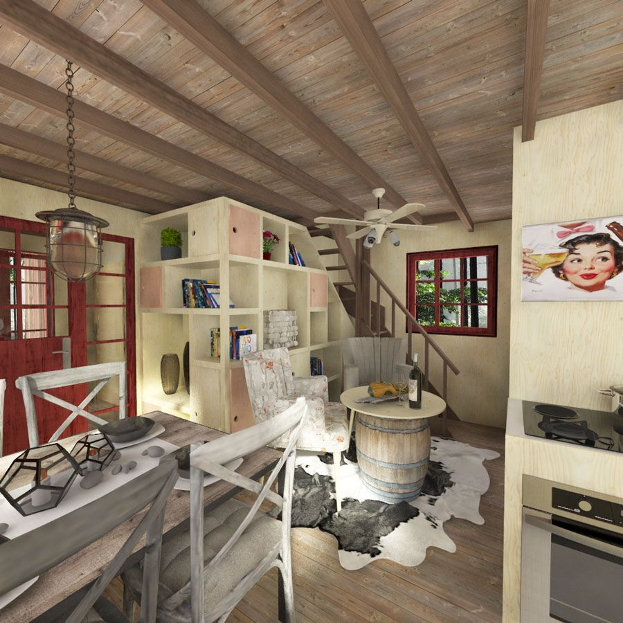 Fantastic Amy A Small 3 Bedroom Tiny House Tiny House Blog Download Free Architecture Designs Rallybritishbridgeorg