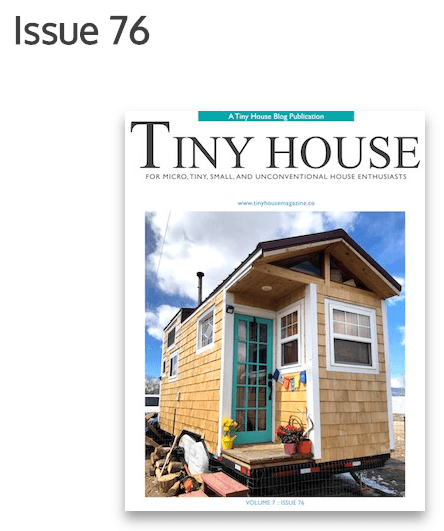 Tiny House Magazine Issue 76